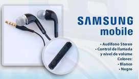 Audífonos SAMSUNG originales manos libres nuevo tipo chupa EO-EG900 blanco o negro