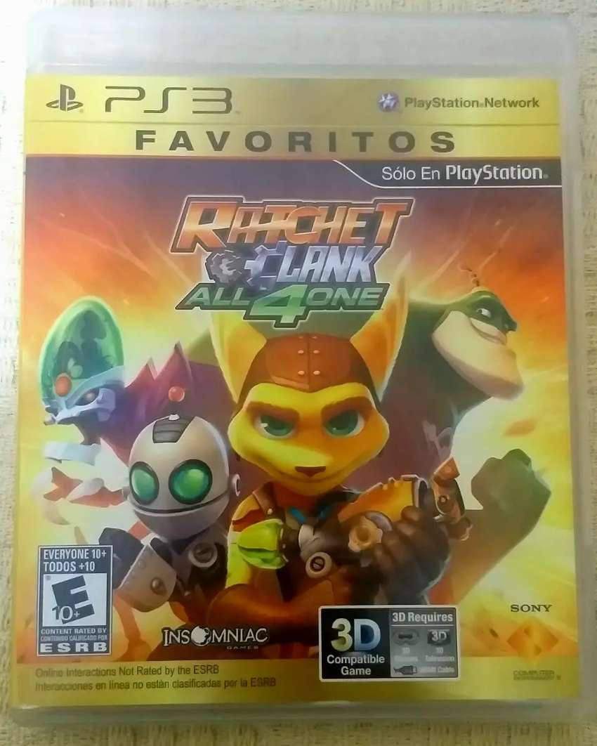 Ratchet and Clank, All 4 One (juego físico original) para PS3 0