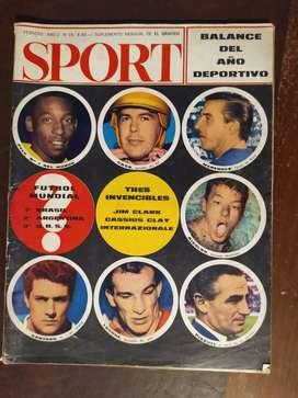 revista sport numero 18 febrero de 1966 , balance del año