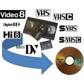 conversiones de vhs a DVD - 10.00 soles - no pagues mas