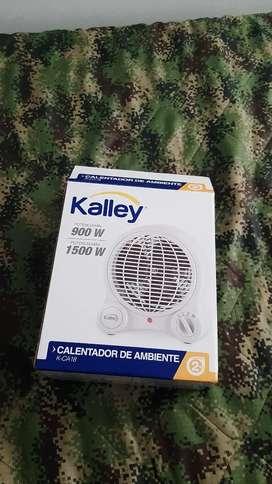 Calefactor de ambiente.