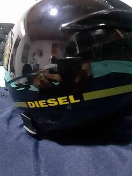 casco AGV negro
