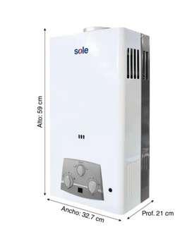 Terma a GAS marca SOLE 10 LITROS