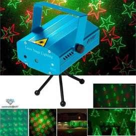 Proyector de luces navideña