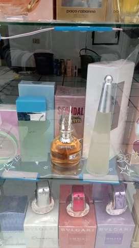 Gran liquidación de perfumería importada