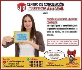 CENTRO DE CONCILIACIÓN HUARI