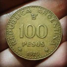Argentina 100 Pesos 1979 - General San Martín