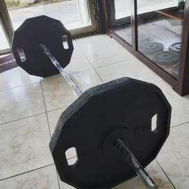 Discos de 50 lb 40 lb y 20 lb
