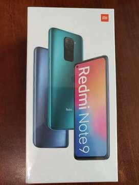 Xiaomi note 9 sellado, 64g