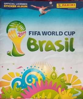 Álbum original Panini del Mundial Brasil 2014