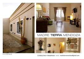 Alquiler temporario casa Amoblada para 8 huéspedes en 5ta. Sección a 4 cuadras Portones Parque Gral. San Martín.