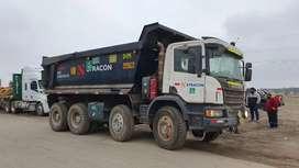 Volquete Scania P460