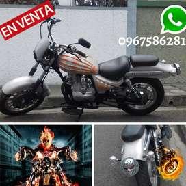 Moto Ghost Rider 200 Cc Customizada