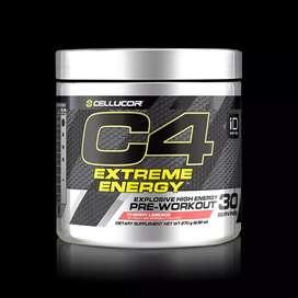 C4 EXTREME ENERGY PRE-ENTRENO 30 SERVICIOS