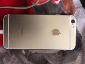 iPhone 6 de 64gb dorado