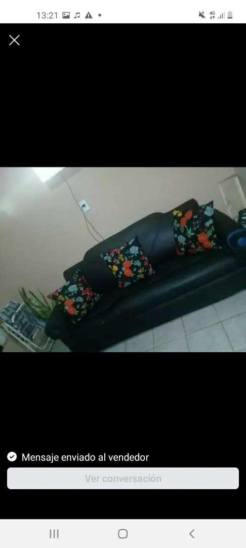 Vendo sillón cama 3 cuerpos 0