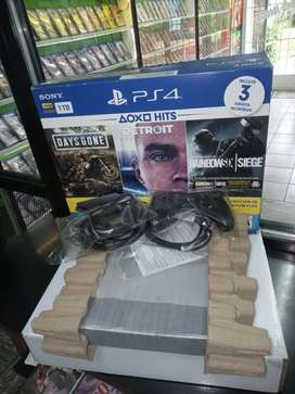 PLAY STATION 4 IMPRCABLE  1TB COMPLETA!!