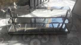 vitrina de 120 de largo x 35 de ancho y 50 de alto