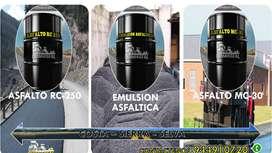 VENTA DE BREA LIQUIDA Y ASFALTO RC 250 EN CILNIDROS BALDES Y GLNS