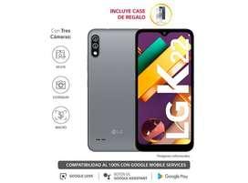 "celular LG K22 pantalla 6.2"" 32GB 13MP + 2MP"