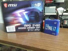 Combo Gamer Procesador i7 10 generacion + Board Gaming