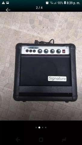 Planta de bajo amplificador 15 watts