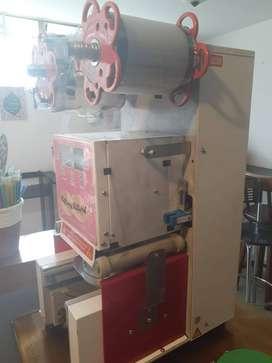Selladora vasos automática