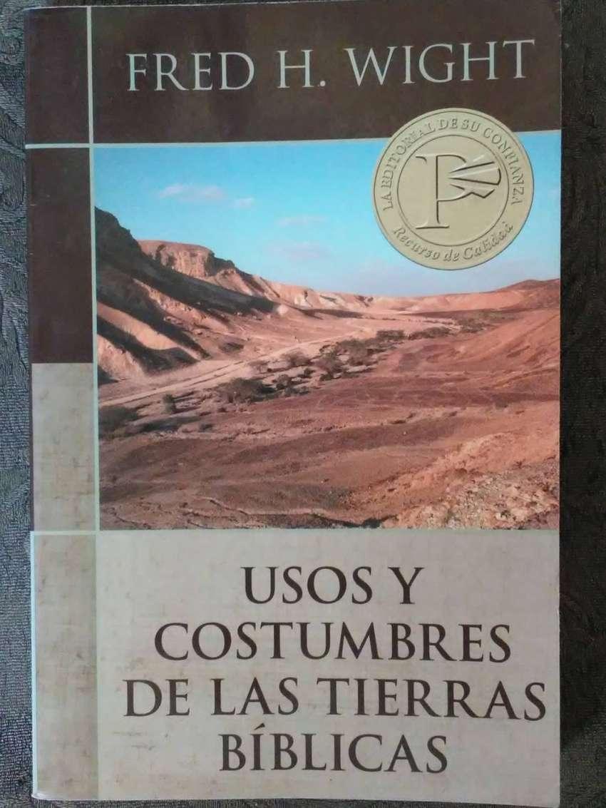 USOS Y COSTUMBRES DE LAS TIERRAS BÍBLICAS  FRED H. WIGHT 0