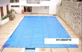 ganga manta importada para piscina  hasta 7 x 5.16 mts