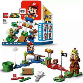 Lego Mario Set Inicial incluye figura Mario Interactiva 100% Original