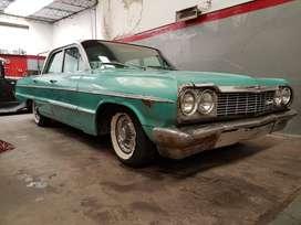 Impala 1964 sedan 4 puertas motor V8