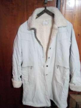 Abrigo de corderoy con corderito muy abrigado marca Sans Doute talle 1