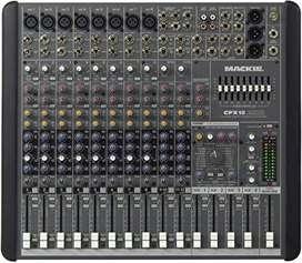Mixer mackie CFX12