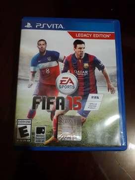FIFA 15 para Ps vita