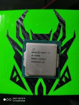 Procesador Intel Core I5 6600k 3.9ghz