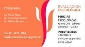 APTO PSICOLÓGICO UNIVERSIDADES / LICENCIAS DE CONDUCIR