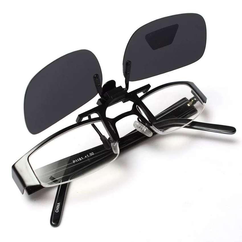 Gafas de sopreponer clip encima de las gafas con formula gafas polarizadas ilusion of time proteccion uv400 antireflejo
