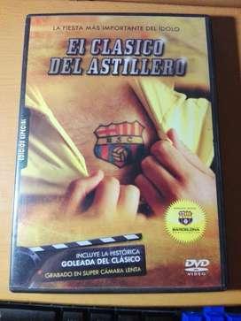 DVD ORIGINAL EL CLASICO DEL ASTILLERO