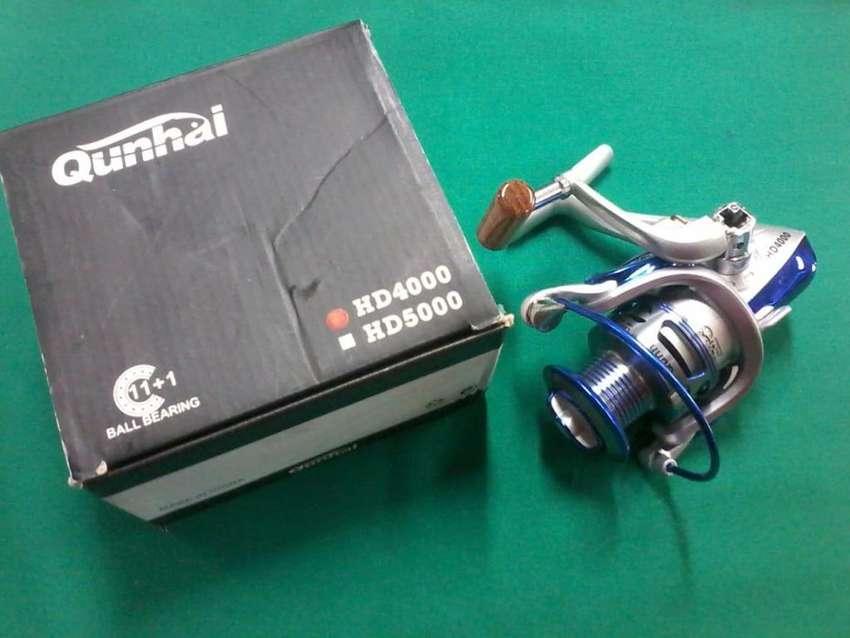 Carrete Para Pesca Qunhai HD 4000-HD 5000