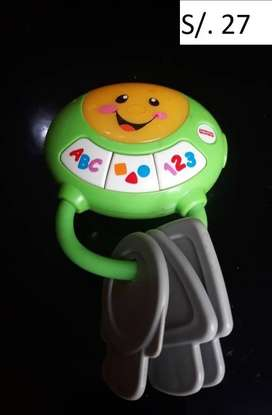 VENDO JUGUETES FISHER PRICE