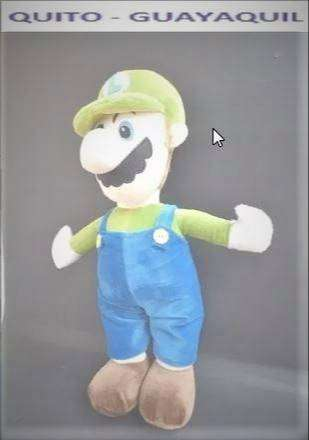 Peluche del Video Juego Mario Broos Luiggui