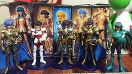 Figuras de personajes Saint Seiya/Caballeros del zodiaco