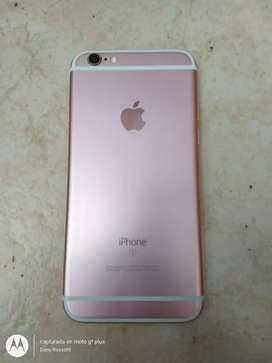 iPhone 6s de 16gb Rose Gold usado