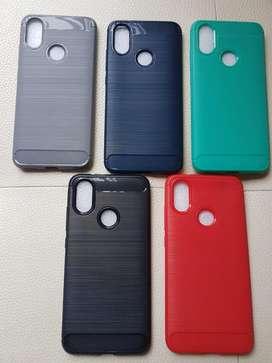 Estuche Xiaomi Redmi note 4, note 5, 5 plus mi a1, 4x, mi a2 lite, note 8, note 7