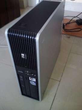 VENTA CPU CORE 2 DUO, HP MEMORIA RAM 2 GB DISCO DURO SATA 200 GB WINDOWS ENVIOS A PROVINCIA