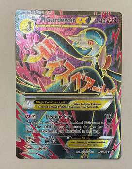 Mega Gardevoir Ex Fullart Pokemon Card