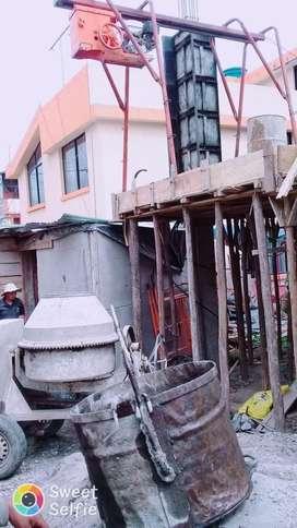 Alquiler de concretera 0979082528 ambato
