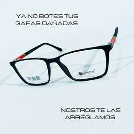 Arreglo de gafas