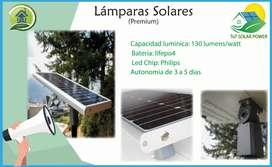 Lampara Solar Premium