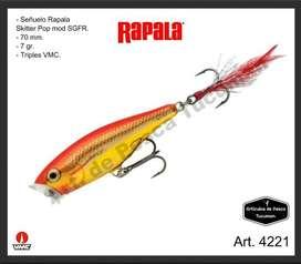 Señuelo Rapala Skitter Pop. Articulos de Pesca Tucuman. 4221
